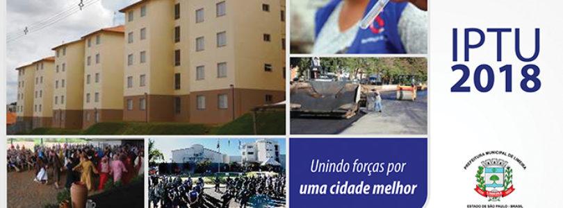 IPTU antecipado: município já arrecadou R$ 4,7 milhões