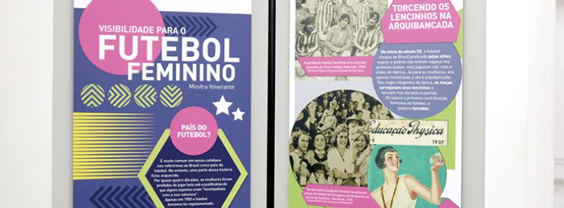 FUTEBOL FEMININO: Museu recebe exposição sobre o esporte