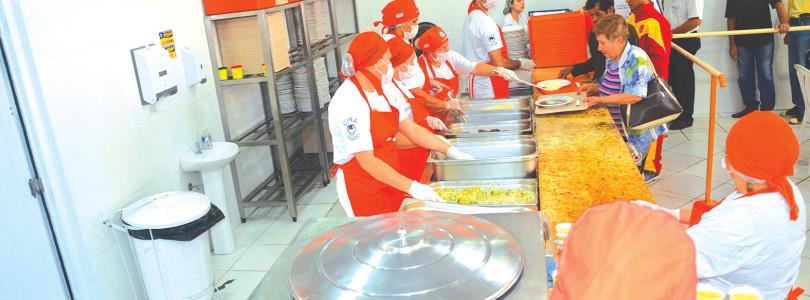 BOM PRATO: Restaurante quer mais 200 refeições diárias