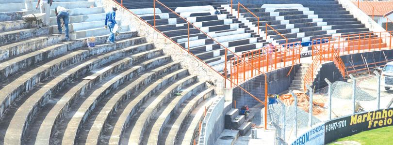 COPA SÃO PAULO: Obras avançam no Pradão