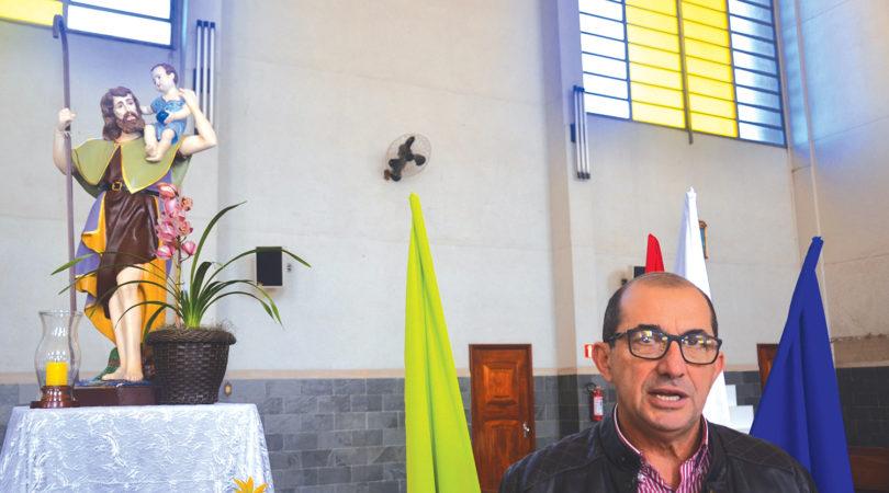SÃO CRISTÓVÃO: Missa, procissão e festa marcam a data