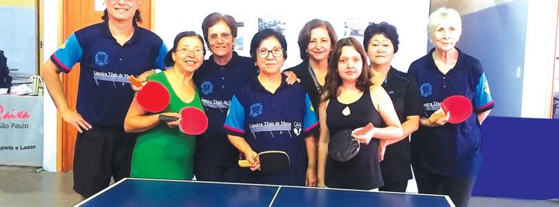 TÊNIS DE MESA: Centro Comunitário dá aulas a mulheres