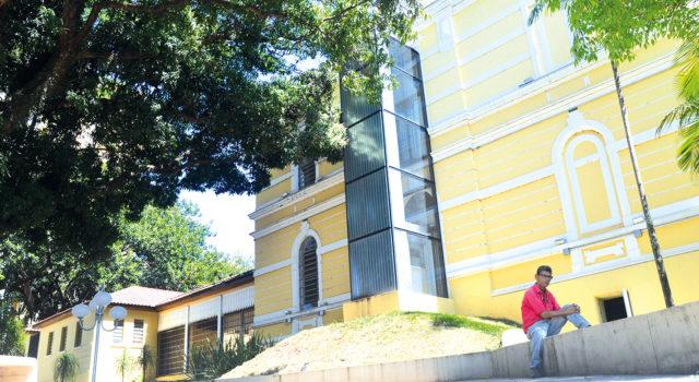 REINAUGURADO EM MAIO DE 2016: Museu segue sem acessibilidade