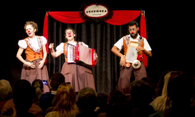GRATUITO: Trupe Dunavô apresenta espetáculo de palhaços em Iracemápolis