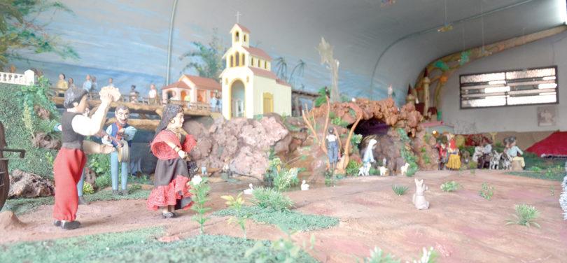 MECÂNICO: Presépio já está aberto a visitantes
