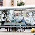 PONTOS DE ÔNIBUS: Abrigos estão cada vez mais sujos