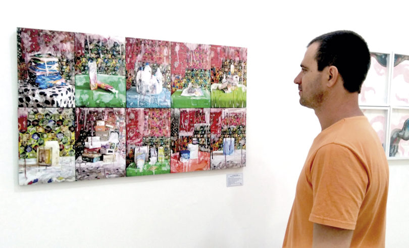 ARTES PLÁSTICAS: Salão de Vinhedo tem obra de limeirense