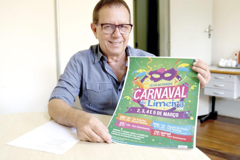 FESTA NO PARQUE: Carnaval tem terceira edição e mais um dia