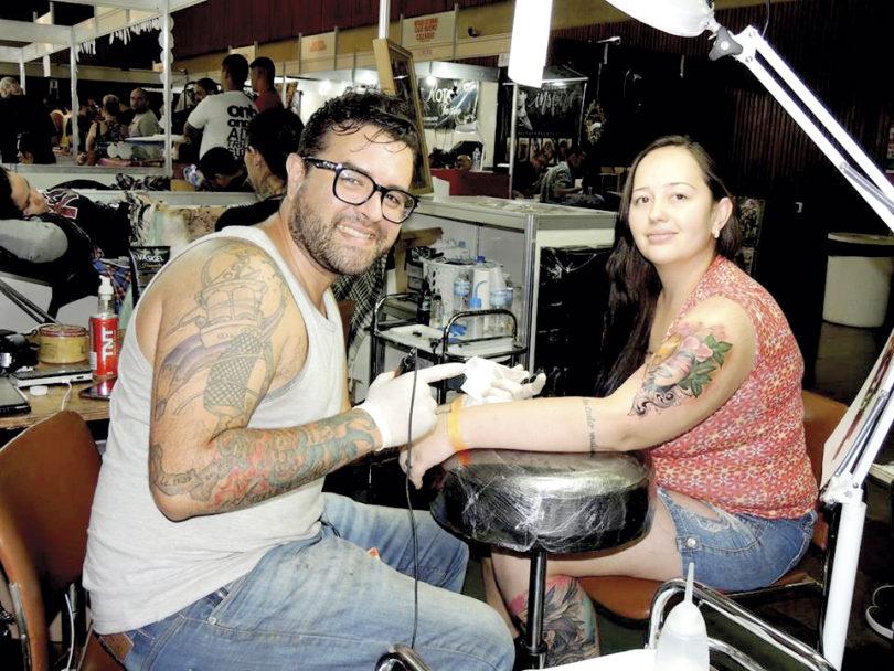 EXPO TATTOO: Tatuadores premiados se reúnem em abril