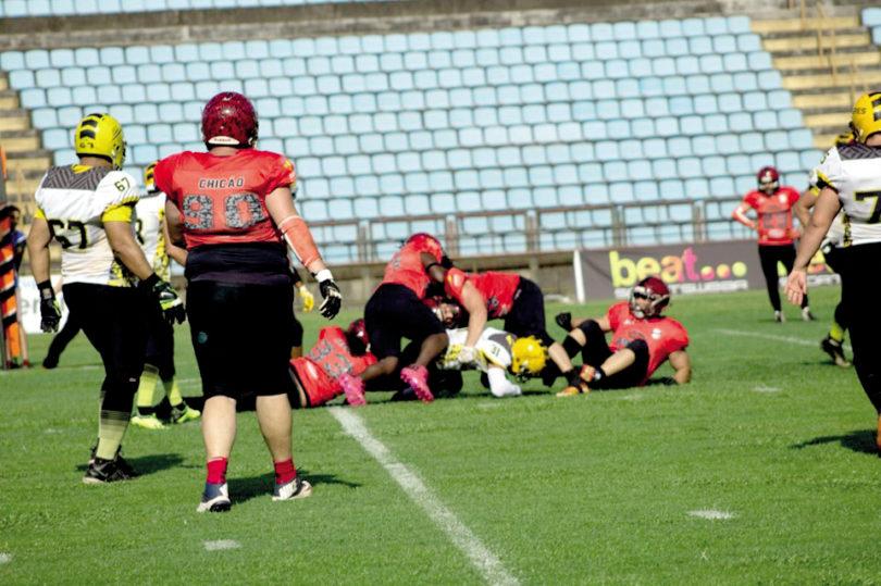 FUTEBOL AMERICANO: Independente-Tomahawk vai disputar acesso à 1ª Divisão