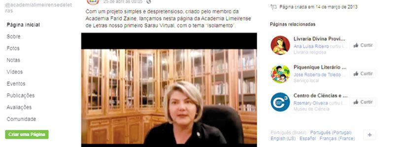 DIANTE DO ISOLAMENTO: ALLe apresenta Sarau Virtual pelo Facebook