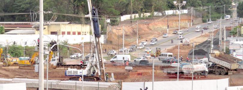 VIADUTO BARROCA FUNDA: Sobra de verbas pode ir para alça do viaduto Antonio Feres