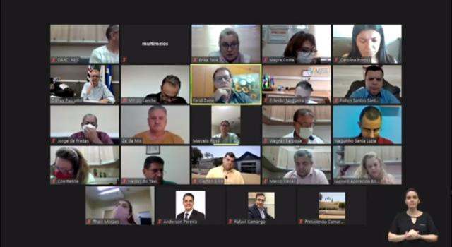 CÂMARA DE VEREADORES: Volta de sessões presenciais indefinida