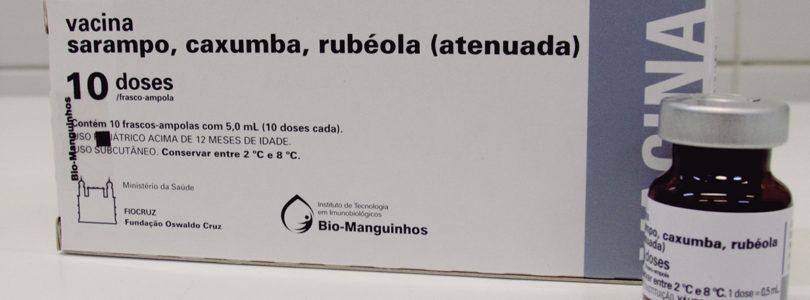 ATÉ 31 DE OUTUBRO: Segue vacinação contra o sarampo