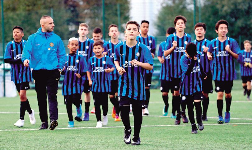 INTER DE MILÃO: Nosso Clube inaugura escola de futebol oficial