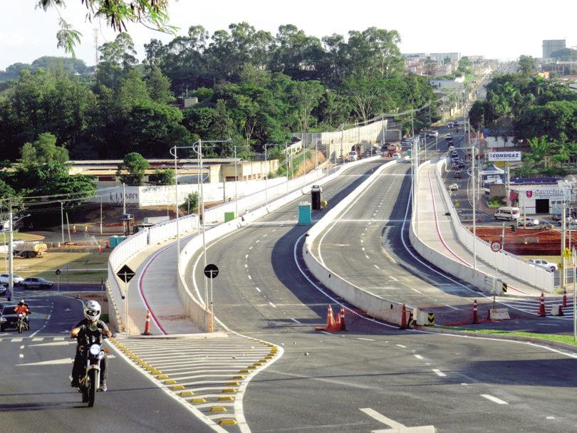 BARROCA FUNDA: Viaduto será inaugurado neste mês