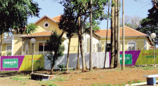 PALACETE TATUIBI: Obra de restauro deve ser entregue até o 2º semestre